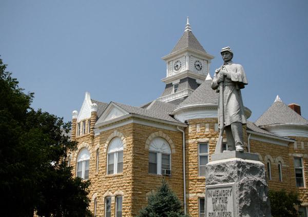 Lincoln County Kansas Courthouse